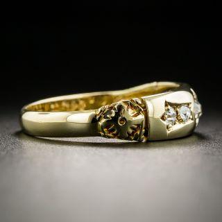 Victorian Five-Stone Diamond Band Ring c.1893