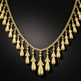 Victorian Fringe Necklace - 2