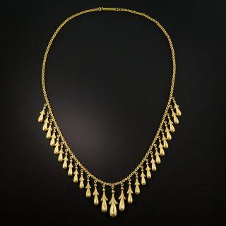 Victorian Fringe Necklace