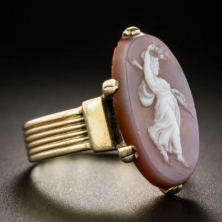 Victorian Hardstone Cameo Ring
