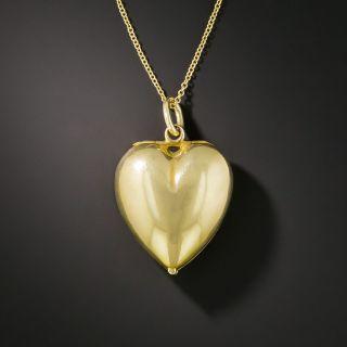 Victorian Heart Locket Pendant  - 2