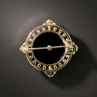 Victorian Initial 'B' Diamond Pin