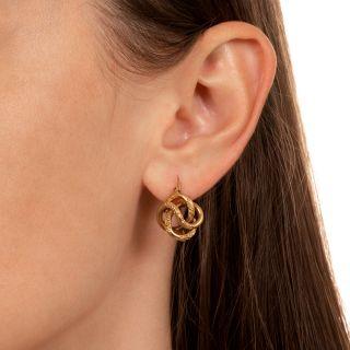 Victorian Knot Earrings
