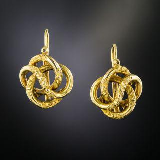 Victorian Knot Earrings - 2