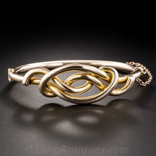 Victorian Knot Motif Bangle