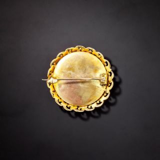 Victorian Limoge Style Enamel Pin
