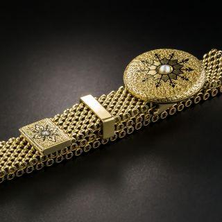 Victorian Mesh Slide Bracelet
