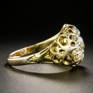 Victorian Old Mine Diamond Cluster Ring