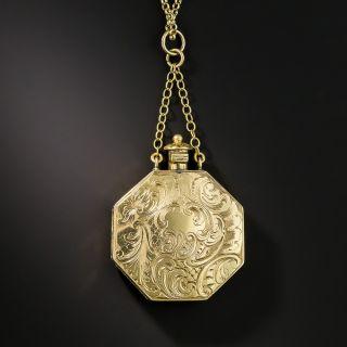 Victorian Perfumer Pendant Necklace