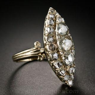 Victorian Retrospective Rose-Cut Diamond Ring