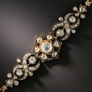 Victorian Rose-Cut Diamond Bracelet - 2