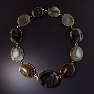 Victorian Agate Necklace  - 0