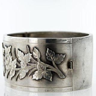 Victorian Silver Bangle, 1883-84