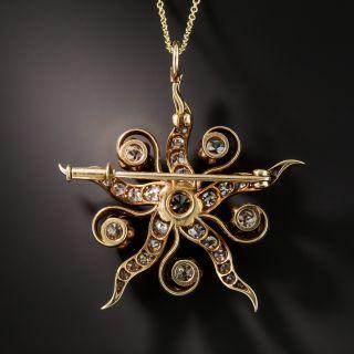 Victorian Star Necklace
