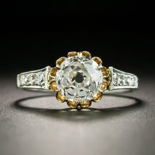 Victorian Style 1.52 Carat Diamond Engagement Ring - GIA - 2