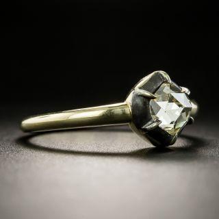Georgian-Style .66 Rose Cut Diamond Ring