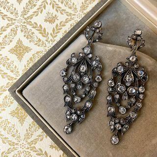 Victorian Style Chandelier Earrings