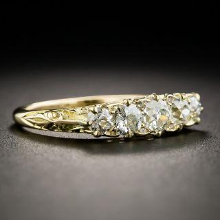 Victorian Style Five Stone Diamond Ring