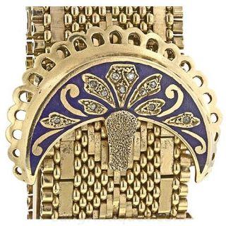 Victorian Style Watch Bracelet