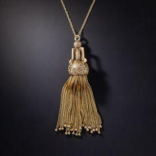 Victorian Tassel Necklace - 1