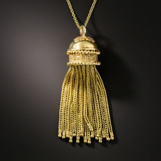 Victorian Tassel Necklace - 3