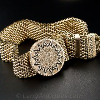 Victorian Tassel Slide Bracelet