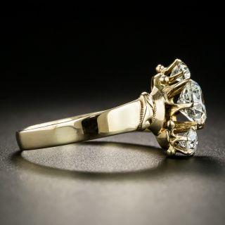 Victorian Three-Stone Diamond Engagement Ring