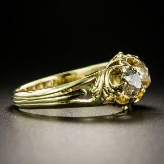 Victorian Three-Stone Old Mine-Cut Diamond Ring