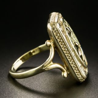 Victorian Two Birds Ring