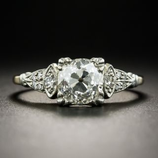 Vintage 1.64 Carat Diamond Engagement Ring - GIA I SI1 - 1