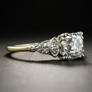 Vintage 1.64 Carat Diamond Engagement Ring - GIA I SI1