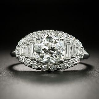Vintage 1.88 Carat Diamond Engagement Ring - GIA J SI2 - 2