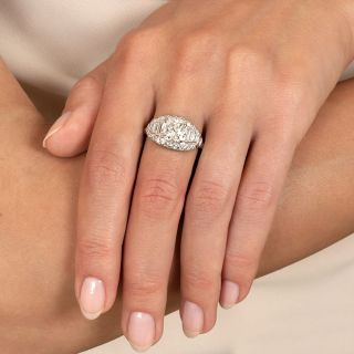 Vintage 1.88 Carat Diamond Engagement Ring - GIA J SI2