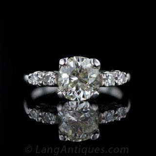 Vintage Diamond Engagement Ring 1950s