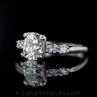 Vintage 1.90 Carat Diamond Engagement Ring