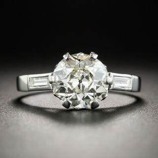 Vintage 1.97 Carat European-Cut Diamond Ring - GIA O/P SI1 - 1