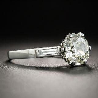 Vintage 1.97 Carat European-Cut Diamond Ring - GIA O/P SI1