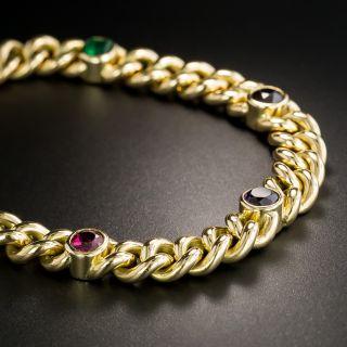 Vintage 18K 'Regard' Bracelet
