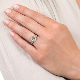 Vintage 2.24 Carat Diamond Engagement Ring - GIA N VS2