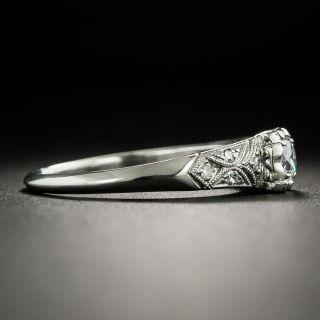 Vintage .20 Carat Diamond Engagement Ring - Palladium