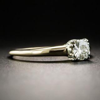 Vintage .27 Carat Diamond Solitaire Engagement Ring