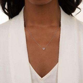 Vintage .40 Carat Diamond Solitaire Pendant