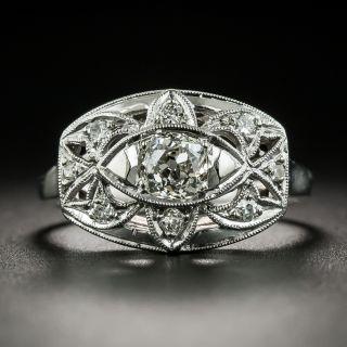 Vintage .45 Carat Diamond Ring by David Sarkin - 2