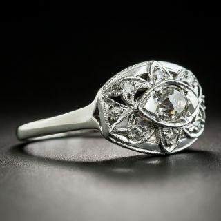 Mid-Century .45 Carat Diamond Ring by David Sarkin