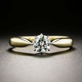 Vintage .45 Carat Diamond Solitaire Engagement Ring - 2
