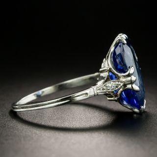 Vintage 5.50 Carat Sapphire Ring