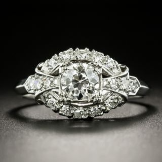 Vintage .58 Carat Diamond Engagement Ring by Granat Brothers - 2