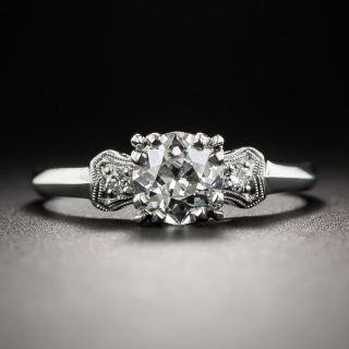 Vintage .68 Carat Diamond Engagement Ring - GIA I VS2 - 2