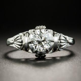 Vintage .68 Carat Solitaire Diamond Engagement Ring - GIA K SI1 - 1