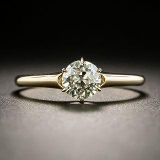 Vintage .70 Carat Solitaire Engagement Ring - 2